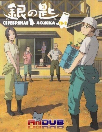 Серебряная ложка ТВ-2 / Gin no Saji TV-2 [11 из 11]