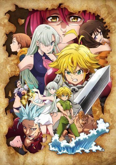 Семь смертных грехов: Гнев богов / Nanatsu no Taizai: Kamigami no Gekirin [02 из 12+]