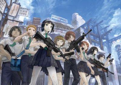 Вооруженные школьники: Баскет армия / Busou Chuugakusei: Basket Army [05 из 05]