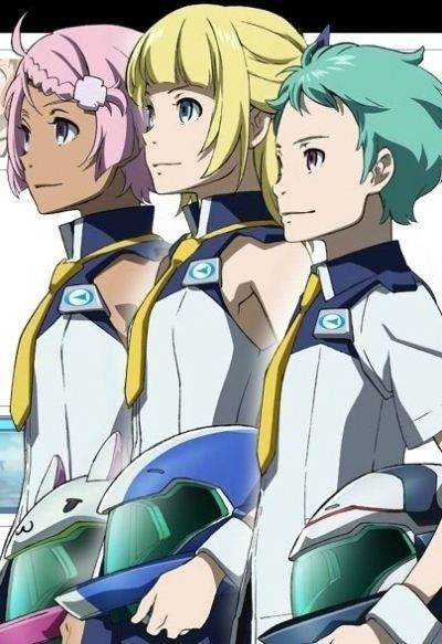 Эврика 7: Аo OVA / Eureka Seven Ao: Jungfrau no Hana-tachi OVA