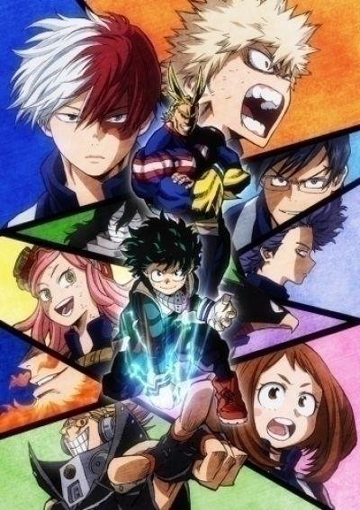 Моя геройская академия ТВ-2 / Boku no Hero Academia TV-2 [25 из 25]
