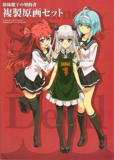 Новый завет Владыки тьмы, моей сестры ОВА / Shinmai Maou no Testament OVA