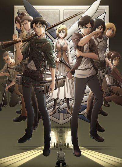 Вторжение Титанов ТВ-3 часть 1 / Shingeki no Kyojin TV-3 [12 из 12]