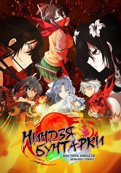 Ниндзя бунтарки: Мастера ниндзя - Демоны Токио / Senran Kagura: Shinovi Master - Tokyo Youma Hen [12 из 12]