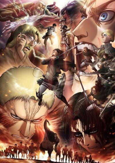 Вторжение Титанов ТВ-3 часть 2 / Shingeki no Kyojin TV-3 [10 из 10]