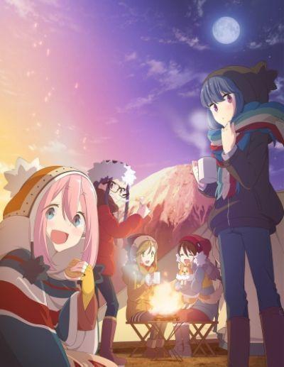 Девчачий кемпинг / Yuru Camp [12 из 12]