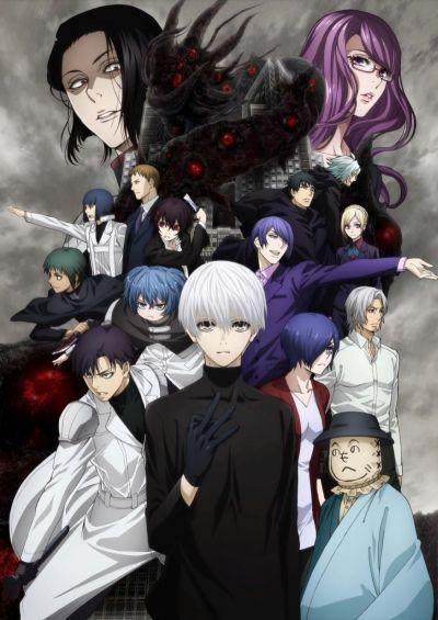 Токийский гуль: Перерождение [ТВ-2] / Tokyo Ghoul:Re TV-2 [12 из 12]